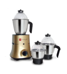 Cello 750W Mixer Grinder (Model: MG-GNM 700 PLUS-GOLD ) at pepperfry