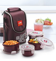 lunch box buy lunch tiffin boxes online in india at best prices pepperfry. Black Bedroom Furniture Sets. Home Design Ideas