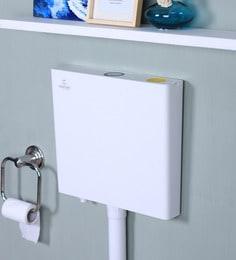 Century Dual Flush With Air Freshener White Plastic Flushing Cistern