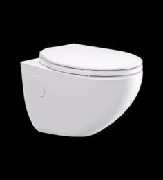 Cera Carnival White Ceramic Water Closet With Seat Cover