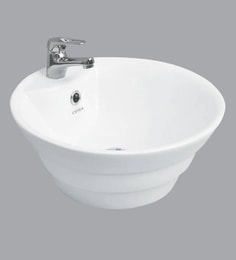 Cera Counter Top Mounting Wash Basin, White - 1721326