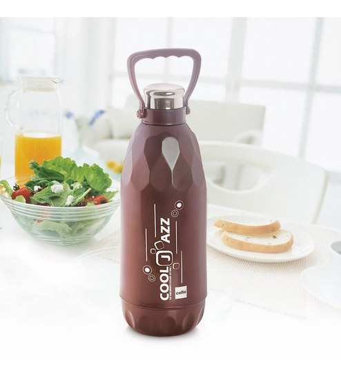 Buy Cello Cool Jazz Water Bottle - 1500 Ml M.Copper-Set of 2 Online on cool kitchen trash cans, cool kitchen plants, cool kitchen art, cool kitchen furniture, cool kitchen appliances, cool kitchen socks, cool kitchen calendars,
