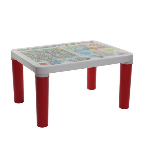 Buy Scholar Junior Kids Desk In Red Colour By Cello Online Drawing