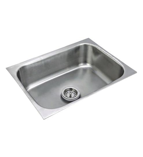 Century Steel Kitchen Sink (Model No: Eu 2418)