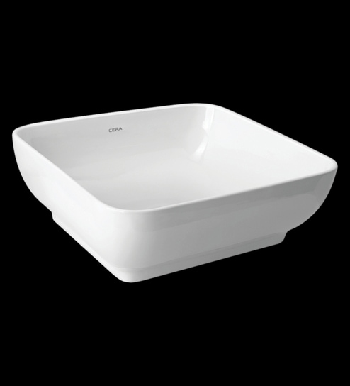 Cera Campa White Ceramic Table Top Wash Basin