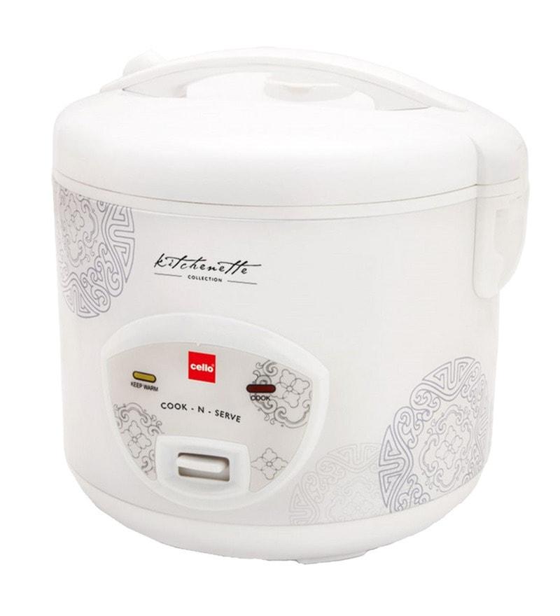 Cello Cook N Serve Rice Cooker - 1.8 liter