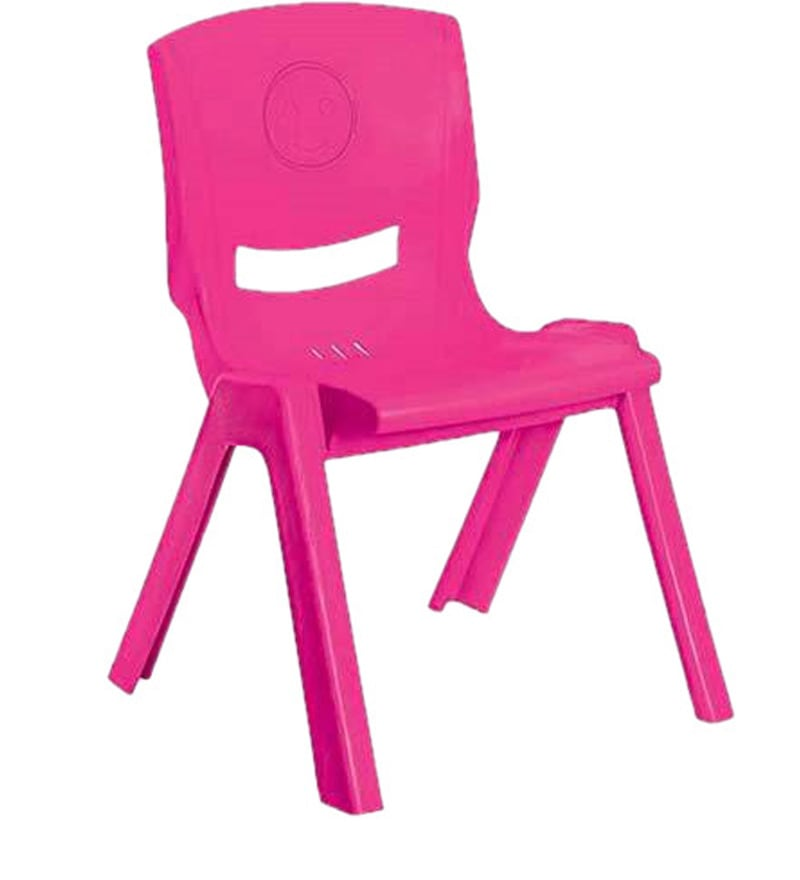 Buy Rock Kids Chair Set Of Two In Pink Colour By Cello