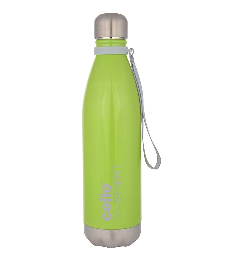 Cello Scout Green Stainless Steel 500 ML Vacuum Insulated Water Flask