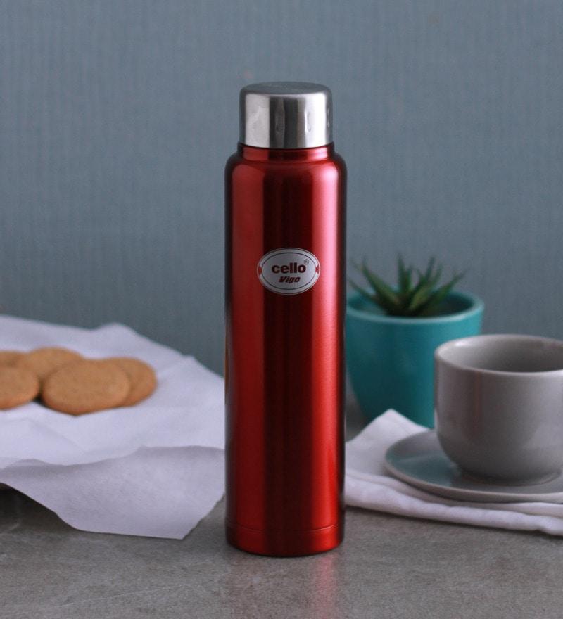 Cello Vigo Pink Stainless Steel 500 ML Flask
