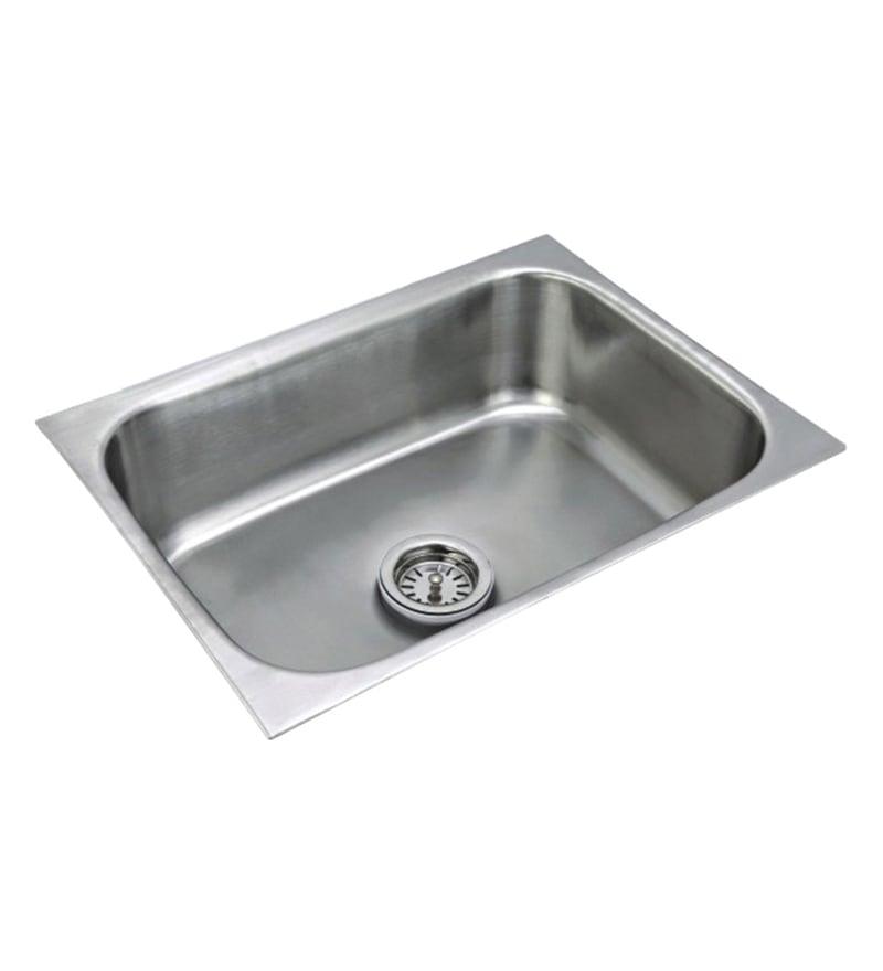 Century Steel Kitchen Sink (Model No: Eu-1816)