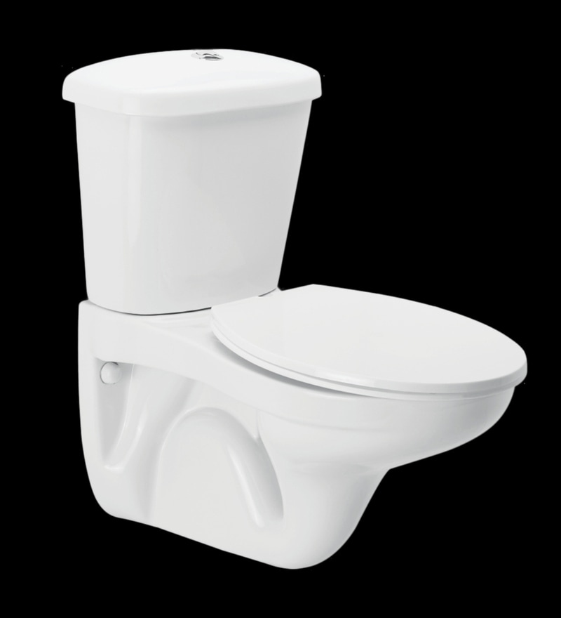 Cera Calaghan White Ceramic Water Closet