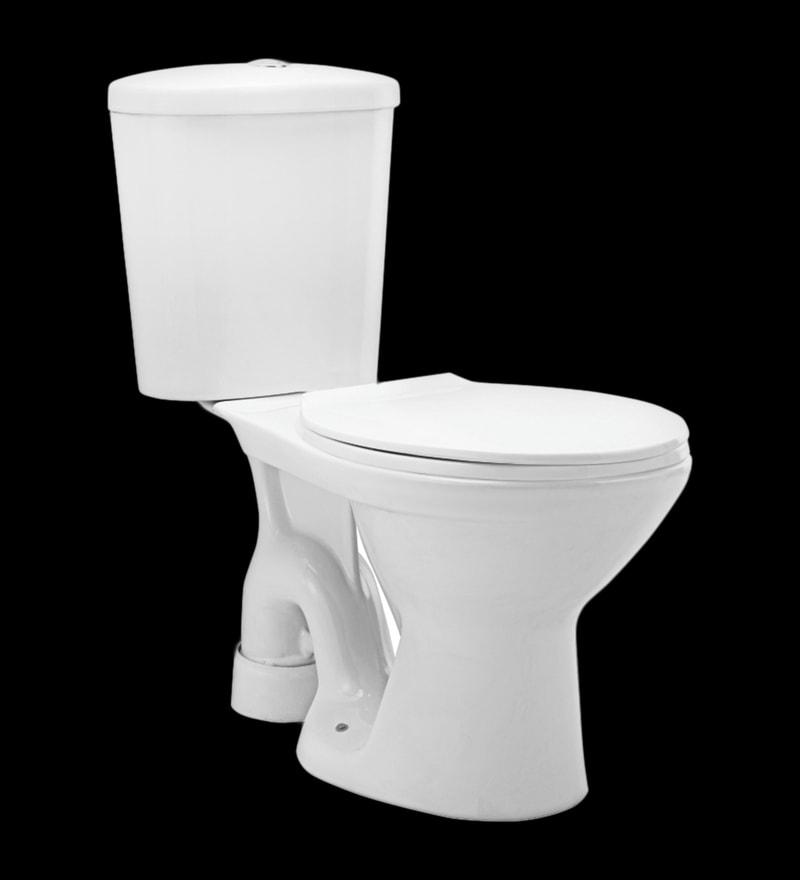 Cera Calibre S Trap White Ceramic Water Closet