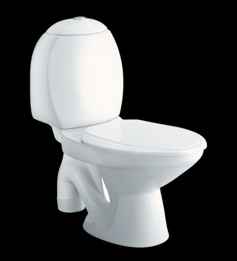 Cera Clair S Trap White Ceramic Water Closet