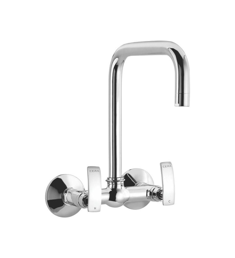 Cera Signet Single Lever Chrome Plated Brass Sink Mixer
