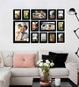 Celino Collage Photo Frame in Brown by CasaCraft