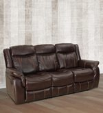 Cherry Three Seater Recliner in Maroon Colour