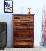 Kevala Chest of Eight Drawer in Provincial Teak Finish