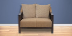 Chevy Two Seater Sofa in Brown Colour
