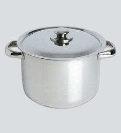 Chef Direct Stainless Steel Stock Pot With Lid 2.0 Liters Chef Direct Eco-Inox - Cooking Pot Olla Inox Con Tapa