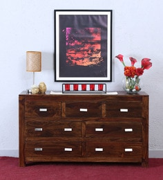 Oriel Chest Of Seven Drawers In Provincial Teak Finish