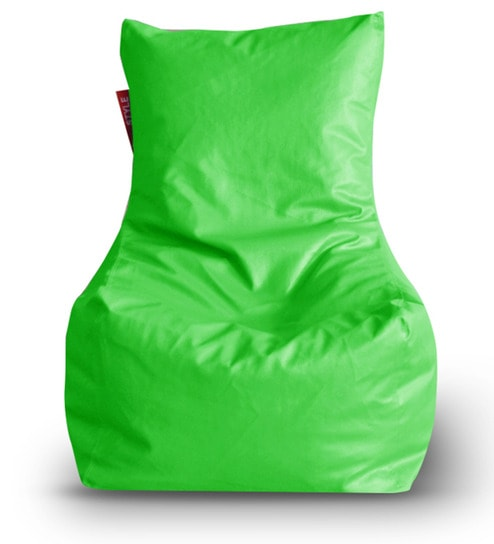 XL Bean Bag Chair Cover In Green Colour By Style HomeZ