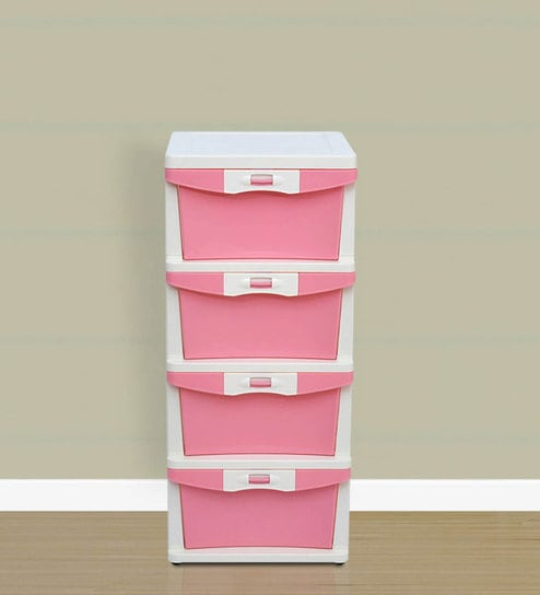 Buy Chester Chest Of Four Drawers by Nilkamal Online - Kids Chest of ...