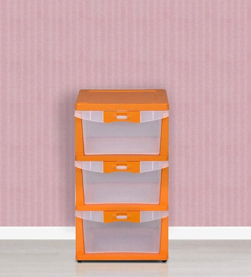 Buy Chester 23 Series Three Drawer Cabinet In Multicolour By