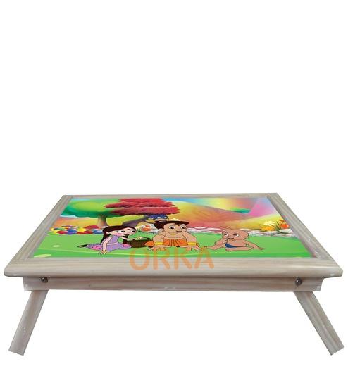 968377bbed7 Buy Chhota Bheem Digital Printed Folding Wooden Laptop Table by Orka Online  - Drawing Desks - Kids Furniture - Pepperfry