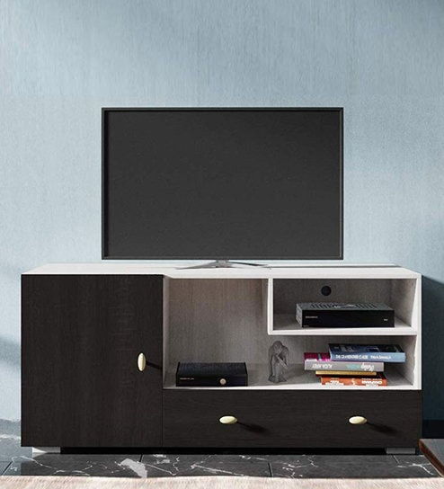 Chicago Tv Unit In White Finish By Forzza