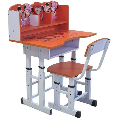 Children Study Table U0026 Chair In Orange Colour By Eros