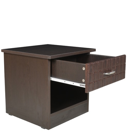 Exceptionnel Chocolate Side Table In Wenge Colour By Crystal Furnitech