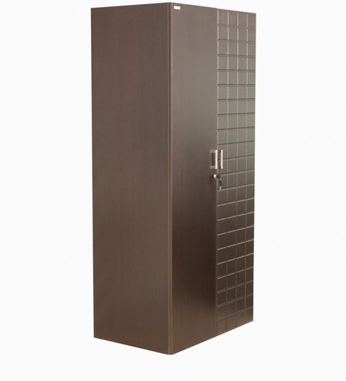Godrej Kitchen Accessories: Buy Chocolate Two Door Wardrobe In Brown Colour By Godrej