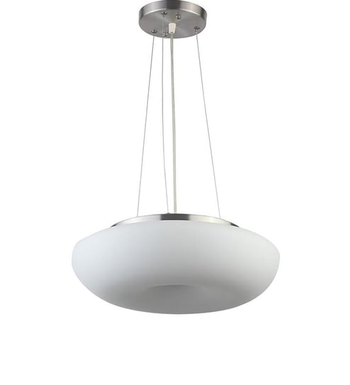 Chrome Mild Steel Hanging Light By Learc Designer Lighting Online Contemporary Lights Lamps Pepperfry Product