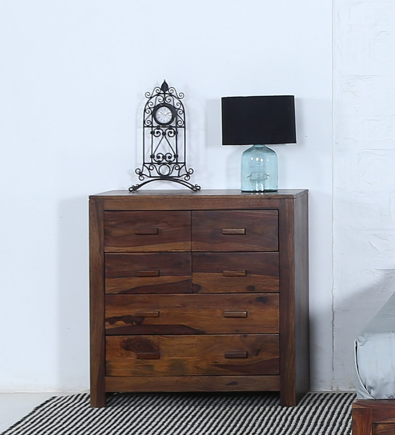Acropolis Chest Of Six Drawers in Provincial Teak Finish by Woodsworth