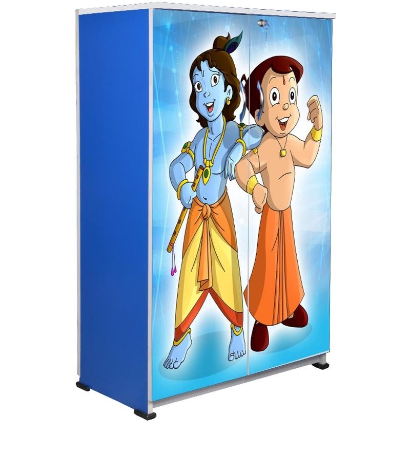 670a84f904f Buy Chota Bheem Kids Wardrobe by BigSmile Furniture Online ...