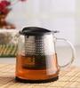 Chado Finum Borosilicate Glass 800 ML Tea Pot with Lid & Infuser