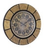 Multicolour MDF 18 x 1 x 18 Inch Wall Clock by CS Exports