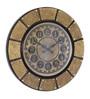 CS Exports Multicolour MDF 18 x 1 x 18 Inch Wall Clock