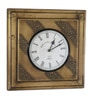 CS Exports Multicolour MDF 12 x 1 x 12 Inch Wall Clock
