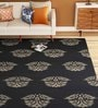 Charcoal Wool 96 x 60 Inch Rug by Imperial Knots