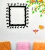 Chinhhari Arts Black Wrought Iron Square Mirror Frame