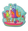 Multicolour Pvc Kulfi Fridge Magnet by Chumbak