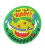 Chumbak Multicolour Pvc Midnight Snack Fridge Magnet