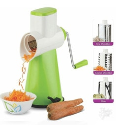 Cierie Drum Grater Shredder Slicer For Chocolates & Dry-Fruits With Stainless Steel Blades
