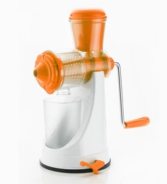 Cierie Fruit & Vegetable Manual Juicer Mixer Grinder With Steel Handle - 1648724