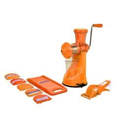 Cierie Kitchen Combo Manual Juicer Mixer Grinder With Steel Handle - 1648729