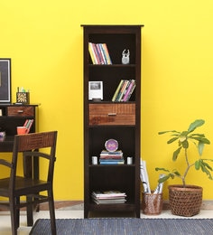 Cistella Book Shelf In Dual Tone Finish