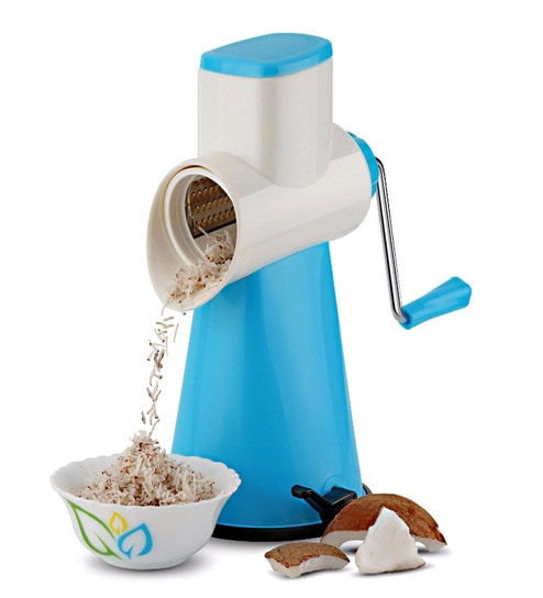 Cierie Drum Grater Shredder Slicer For Vegetables & Fruits With Stainless Steel Blades - 1648732