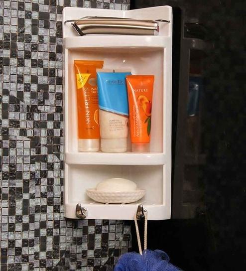 Cipla Plast White Plastic Bathroom Cabinet By Cipla Plast Online Bathroom Cabinets Bathroom