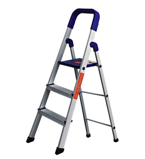 Buy Cipla Plast Folding Aluminium Ladder Home Pro 3
